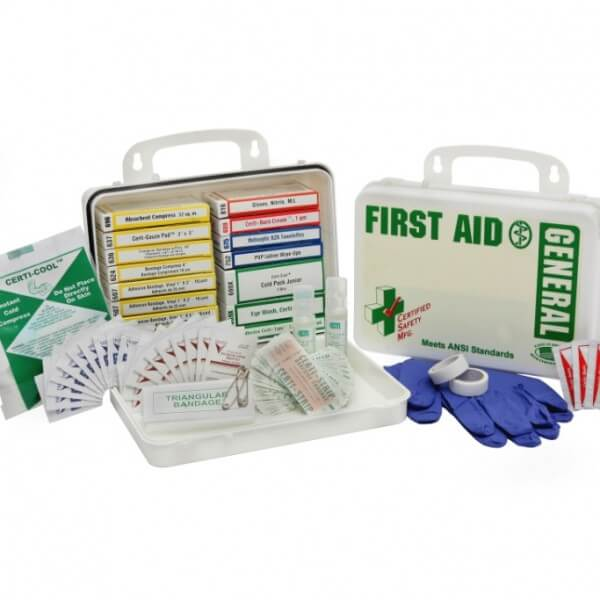General Purpose First Aid and CPR Supplies Kit